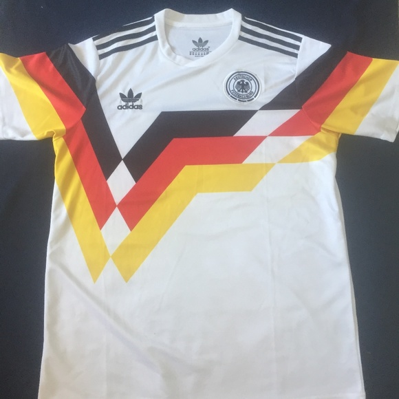 13decd8acf6 adidas Shirts | Vintage Germany Soccer Jersey World Cup | Poshmark
